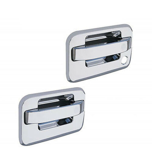 2004-2014 Ford F150 F-150 Pickup Truck Chrome Door Handles Cover w/ Keyhole Pair