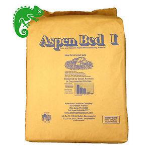 Aspen Bedding 14kg BULK Bale, Snake Reptile Pet Substrate 14.5Kg Bag