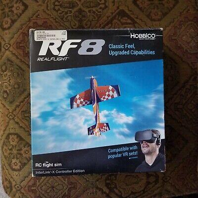 RealFlight 8 InterLink-X Controller Edition RC Flight Sim, NIB