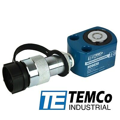 Temco Hc0030 Low Profile Height Hydraulic Cylinder Puck 5 Ton 0.28 Stroke