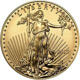 2015 Gold American Eagle (GAE) 1/4oz (Quarter Ounce) $10 BU