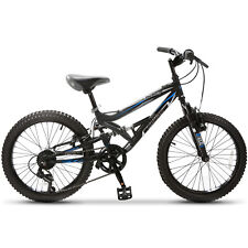 "Buy and sell 20"" Teen Kids Children Mountain Bike 7 Speed Bicycle Shimano Full Suspension near me"