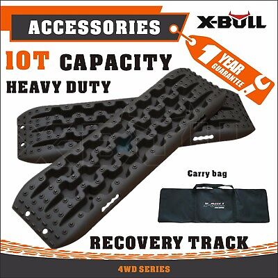 X-BULL Sand Tracks Recovery Traction Snow Track Tire Ladder 4WD Off Road Black