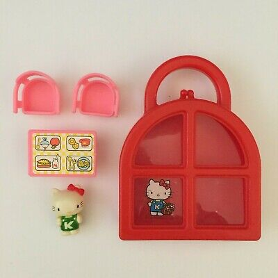 Hello Kitty Chair (Vintage Sanrio Hello Kitty TOHO Red Carrying Case With Table and)