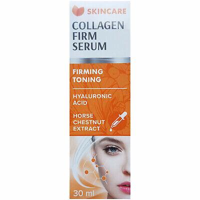 Hyaluronsäure Auge (Collagen Firm Serum 30ml mit Hyaluronsäure und Rosskastanien-Extrakt festigend)