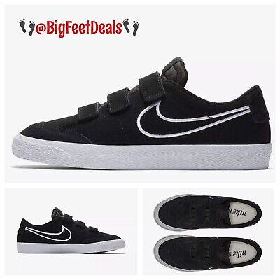 sports shoes d0af1 1733f Nike Sz 14 SB Zoom Blazer Low AC QS Strap Black Air Force 1 Dunk Jordan  Supreme