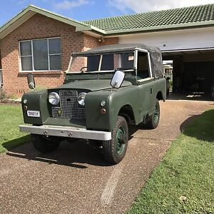Land Rover 1958 series2a Bateau Bay Wyong Area Preview