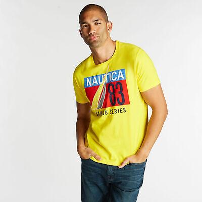 Nautica Mens Sailing Series Graphic T-Shirt