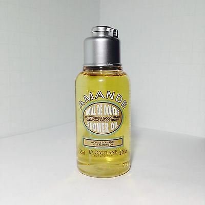 L'occitane Almond Shower Oil 2.5oz/75ml Travel Size