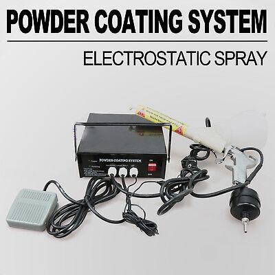 Powder Coating Machine Powder Coating System Paint Spray Gun Pc03-5 110v Us