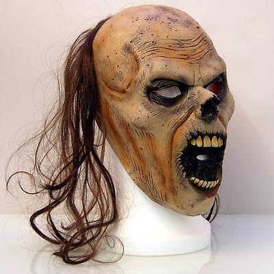 Maske für Halloween für Erwachsene, Zombie Monster, Zombiemaske, Ork