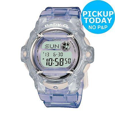 Casio Baby-G Ladies' Water Resistant LCD Digital Watch - Lilac