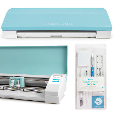 Silhouette Cameo-3 Limited Edition Teal + Silhouette Tool-Kit + Sofortversand
