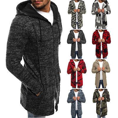 OZONEE Herren Strickjacke Pullover Sweatjacke Pulli Langarmshirt 171551 MIX