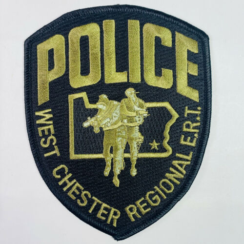 West Chester Regional ERT Police Chester County Pennsylvania PA SWAT Patch (A3)