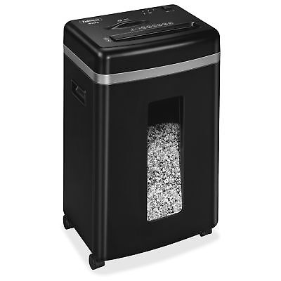 Fellowes 450m 9-sheet Micro-cut Paper And Credit Card Shredder With Silentshred