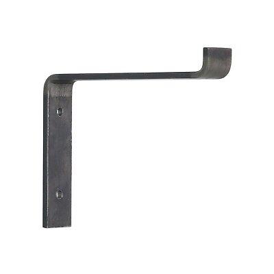 Heavy Duty Metal Shelf Bracket, USA Handmade, ALL SIZES Rustic Industrial Modern ()