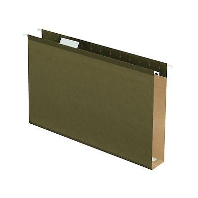 Hanging File Folders 2 Extra Capacity Reinforced Legal Size 15 Cut 25bx