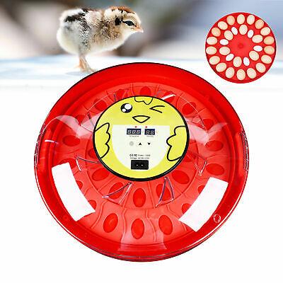 Automatic 30 Digital Chick Bird Egg Incubator Hatcher Temperature Control Usa