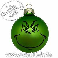 Grinch Weihnachtskugel Christbaumkugel Niedersachsen - Sickte Vorschau