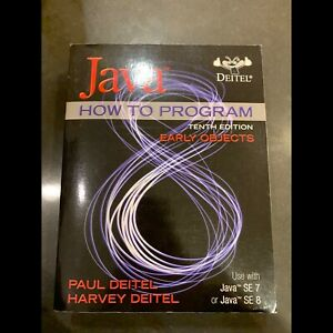 Java: How to program 10th Edition