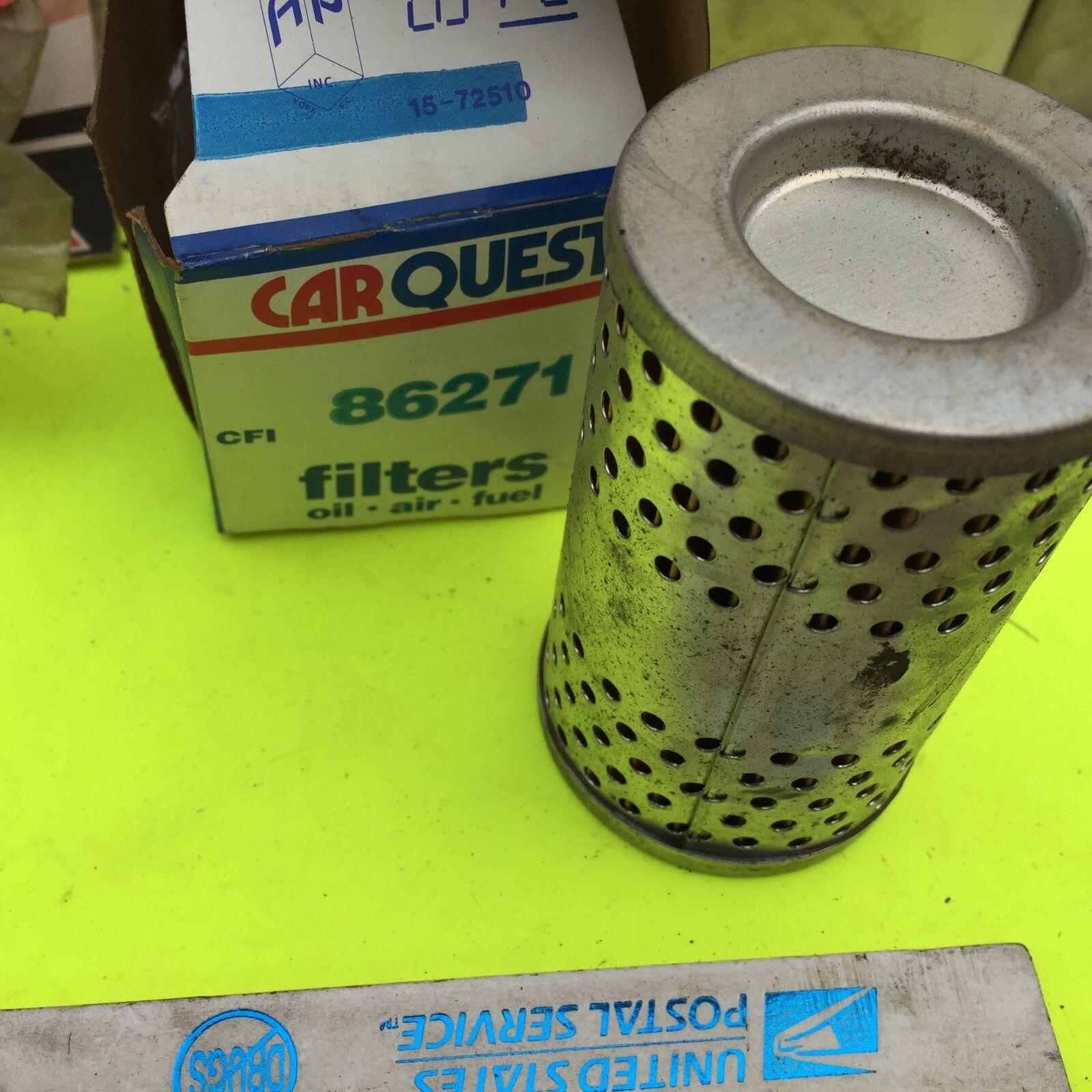 Carquest.  U.S. old cars,  filter.    Carquest  86271.       Item:  4668