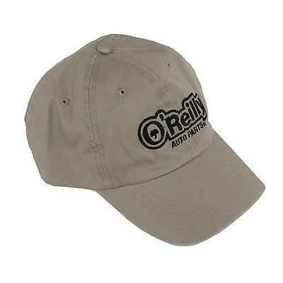 Oreilly Auto Parts Hat Adjustable Cap Baseball One Size Tan Oreillys