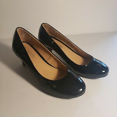 Women's Black Pumps Mootsies Tootsies 6.5M 2 inch