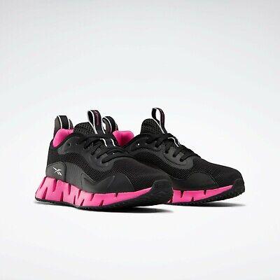 Reebok Zig Dynamica Women's Sneakers Shoes US Size 9 Black / Pink