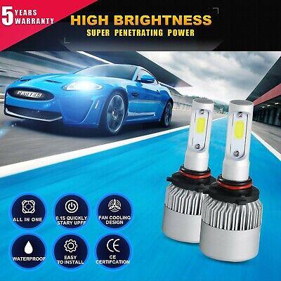 9005 LED Headlight Bulb for Toyota Camry Corolla Highlander High Beam Kit 1915W 04 Toyota Matrix Headlight