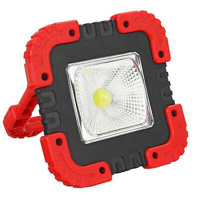 Solar COB LED Luz de trabajo USB recargable Flood Spot Lámpara de...