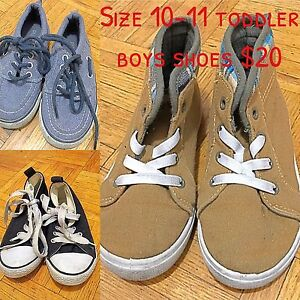 Boys toddler shoes size 10-11