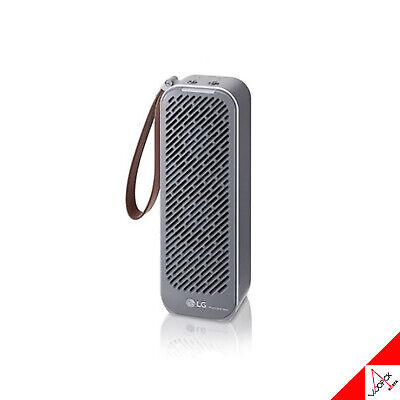LG PuriCare Mini Portable Bluetooth Purifier Car Air Cleaner - Black AP139MBA