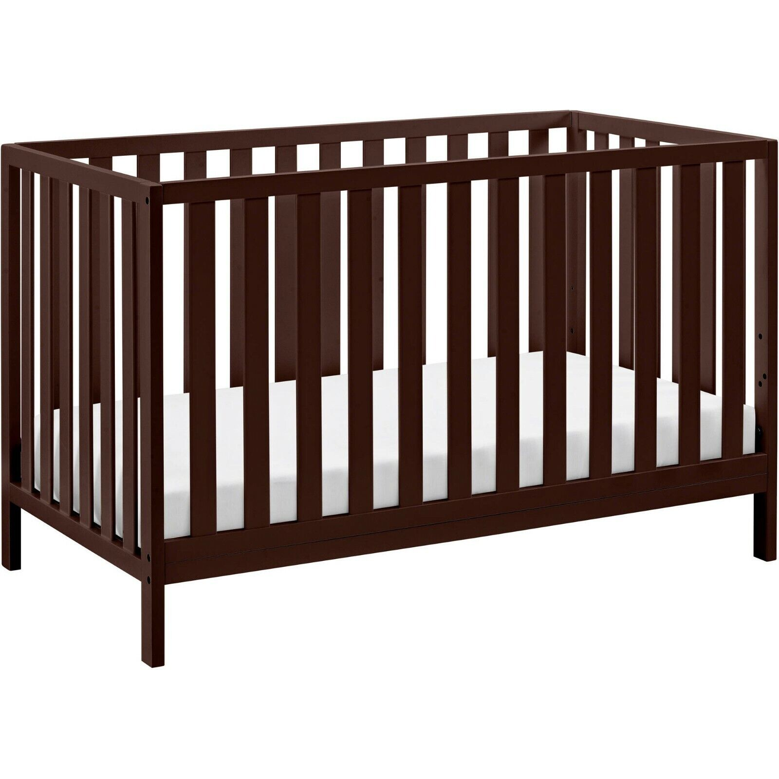 Storkcraft Sunset 4 in 1 Convertible Crib Espresso