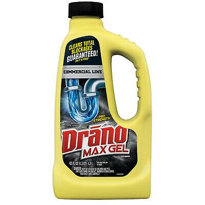 Drano Max Gel Clog Remover Commercial Line 42 Fl Oz