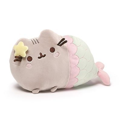 """GUND Pusheen Mermaid Catfish Plush 12"""" 4056242"""