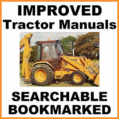 Case 580 B 580b Ck Tractor Loader Backhoe Repair Service Manual Searchable Cd