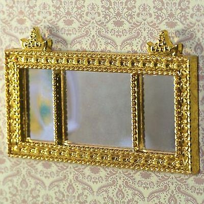 Dolls House Miniature  FRENCH MIRROR~ Accessory ~living room- hall ~ 1:12