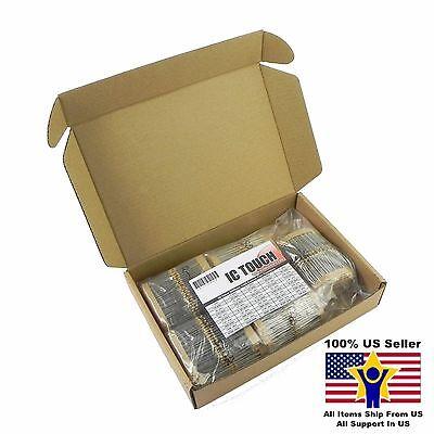 50value 2000pcs 14w Carbon Film Resistor -5 Kit Us Seller Kitb0094