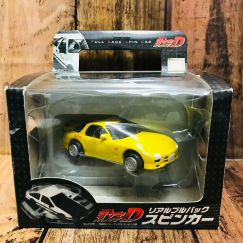 Banpresto 2003 Initial D Real Pull Back Spin Car FD3S