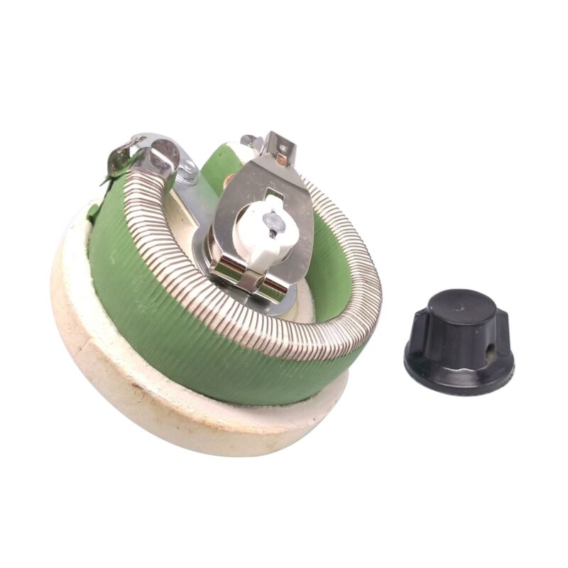 100W 100 OHM High Power Wirewound Potentiometer, Rheostat, Variable Resistor