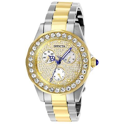 Invicta Women's Angel 28458 38mm White Dial Stainless Steel Watch