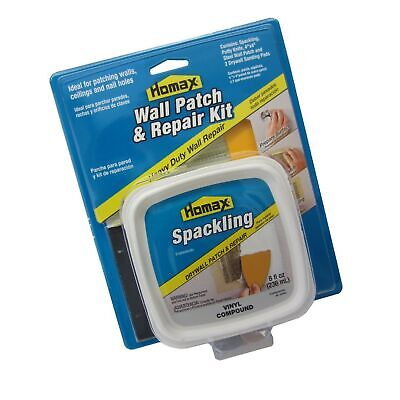 """Homax Drywall Patch and Repair Kit, 4""""x4"""" Wall Patch"""