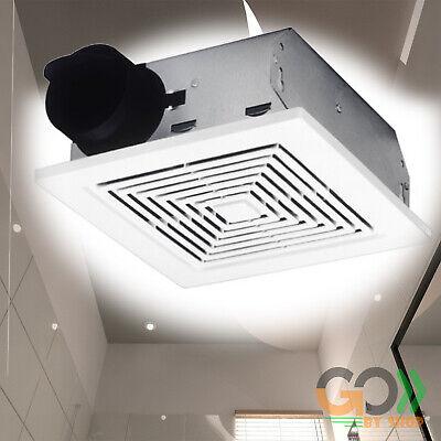 Bathroom Ceiling Vent (Bathroom Ceiling Ventilation Fan Air Vent Wall Mount Exhaust Toilet Bath White )