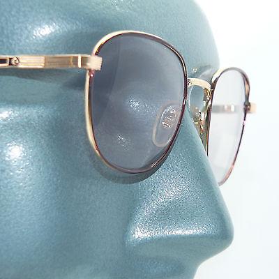 Petite Metal Brown Gold Frame Color Changing Light Sensitive Sunglasses (Color Changing Sunglasses Frame)
