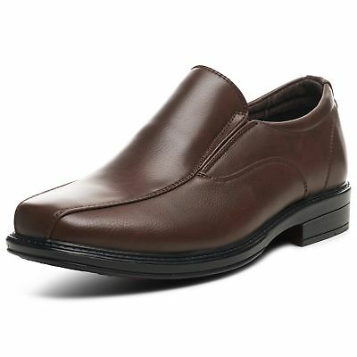 Alpine Swiss Mens Dress Shoes Leather Lined Slip On Loafers Good for Suit - Dresses Shoes