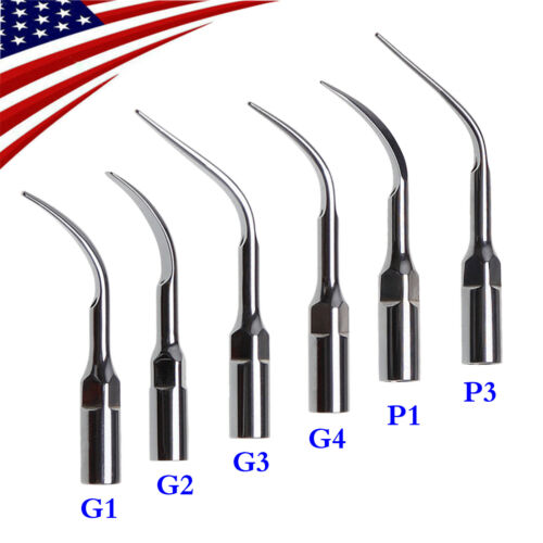 USA STOCK Dental Perio Scaling Tip for EMS Ultrasonic Piezo Scaler G1-G4 P1 P3