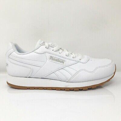 Reebok Womens Classic Harman Run CM9940 White Running Shoes Lace Up Size...