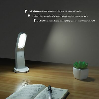 Rechargeable Desk Lamp Mini LED USB Touch Reading Wall Light For Bedroom Home HG