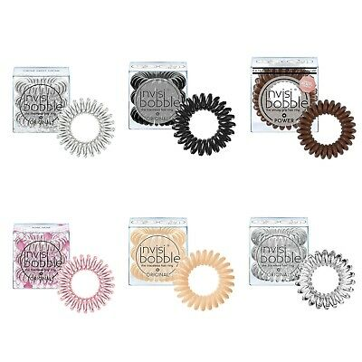 Invisibobble Hair Tie Traceless Hair Ring Pack Of 3